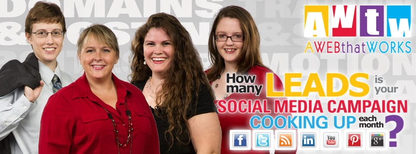 How many leads is your social media campaign cooking up