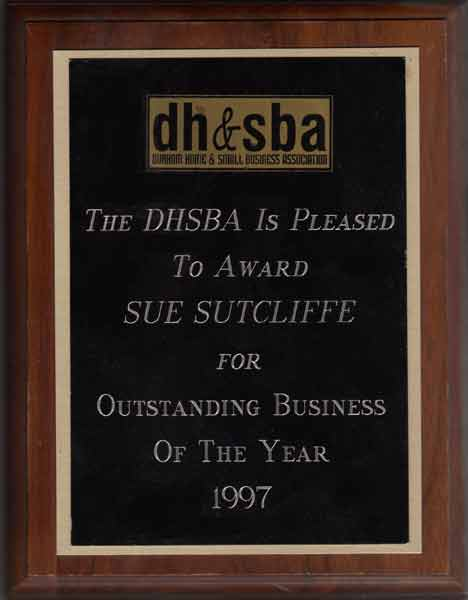 Outstanding Business of the Year 1997