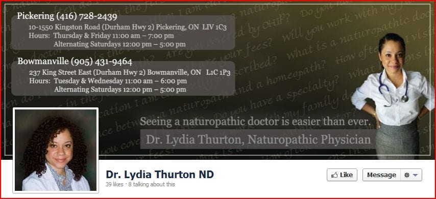 Dr. Lydia Thurton Naturopathic Doctor