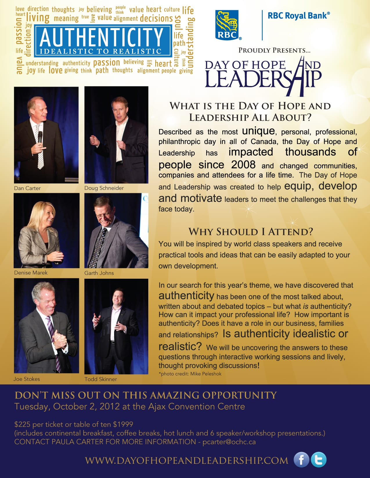 Day of Hope & Leadership poster and link