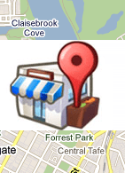 Google Local icon on a map