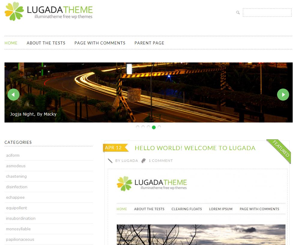 Lugada theme shot