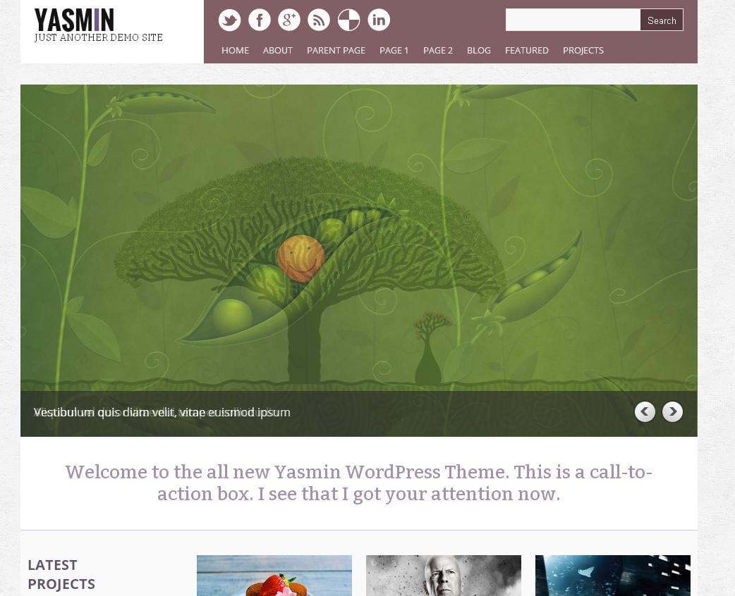 Yasmin Theme