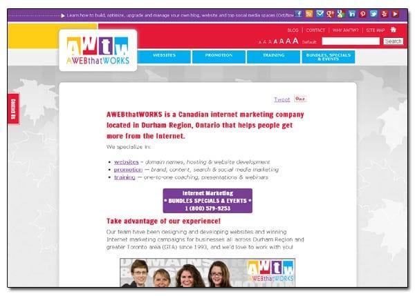 AWEBthatWORKS - Responsive Website - Full Size