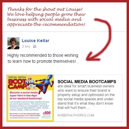 """Highly recommended to those wishing to learn how to promote themselves!"" --Louse Thibert"