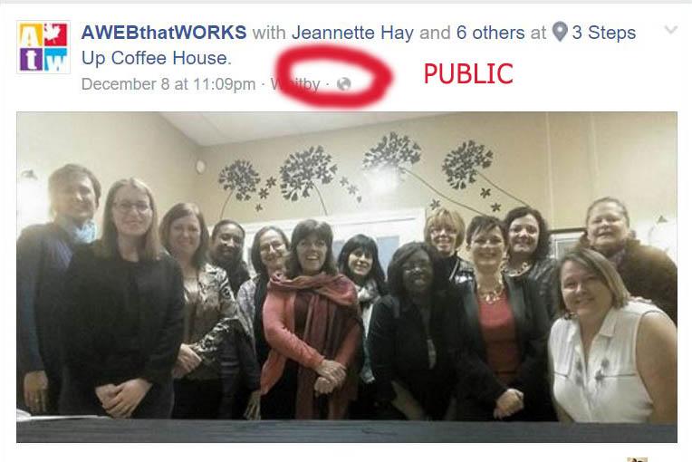 Public Facebook Post
