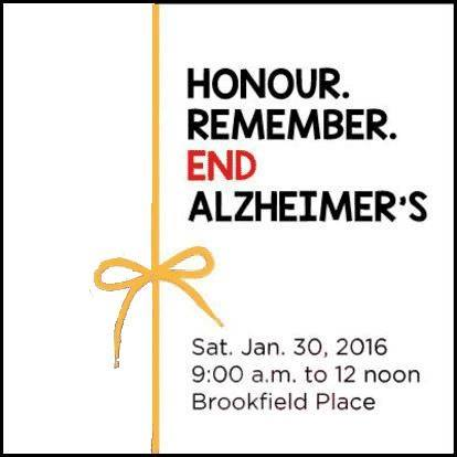 Honour. Remember. End Alzheimer's