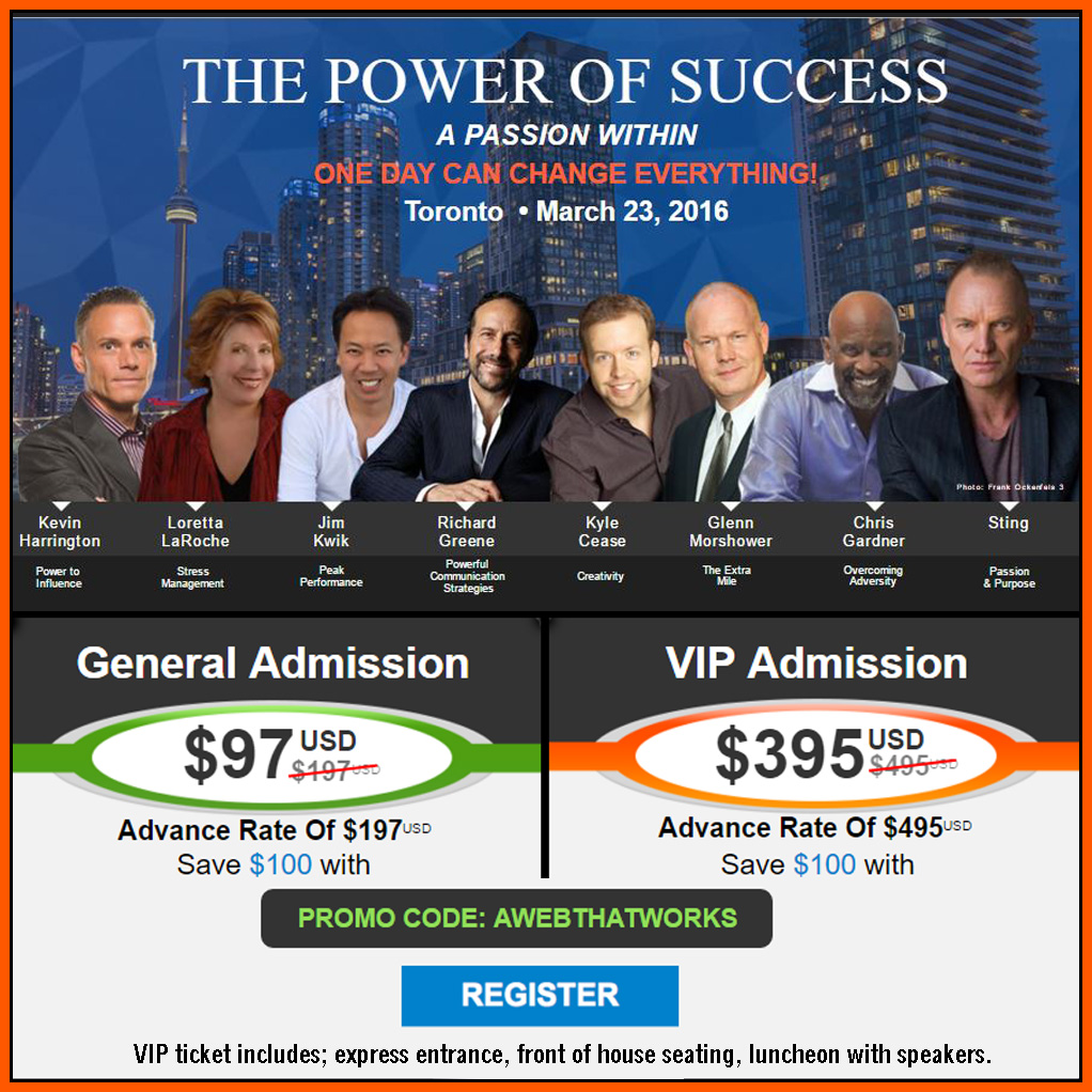 The Power of Success 20160323