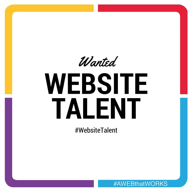 Website Talent Wanted