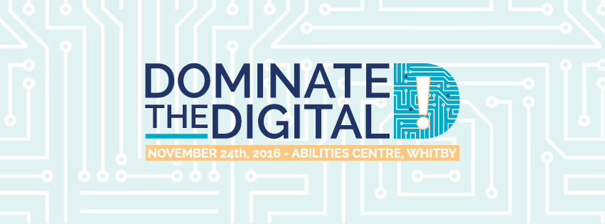 Dominate The Digital Conference Banner