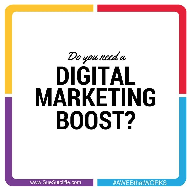 Do you need a digital marketing boost?
