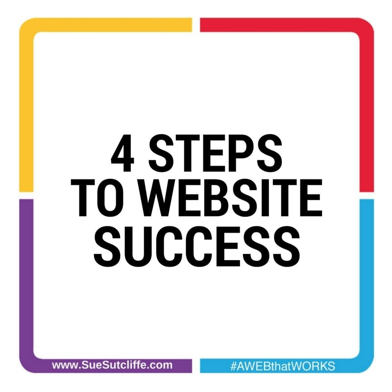 4 Steps To Website Success