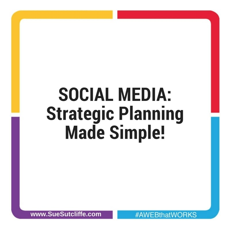 Social Media: Strategic Planning Made East