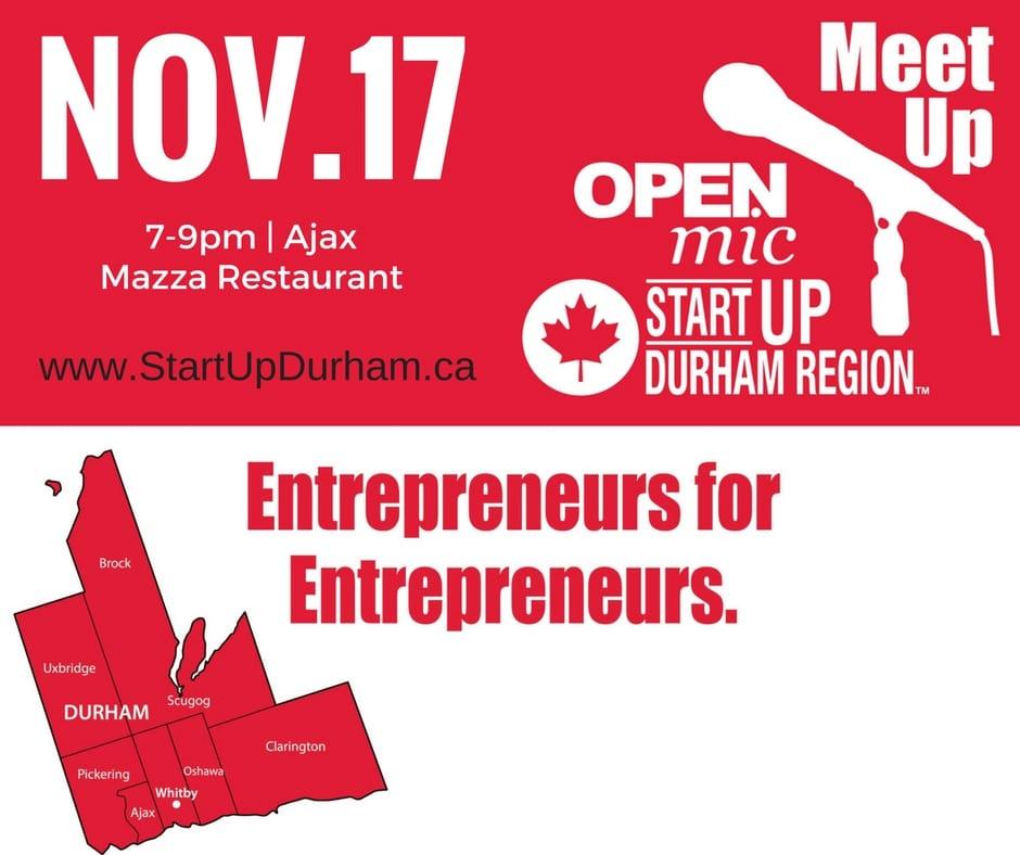Startup Durham Open Mic