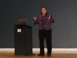 Sue Sutcliffe Speaking