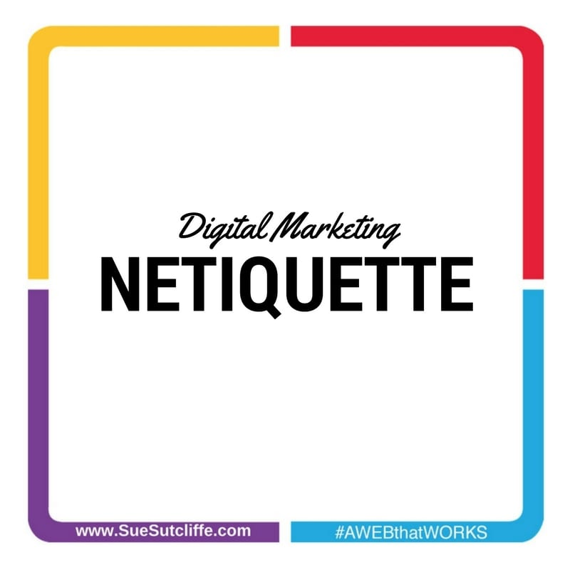 digital marketing netiquette