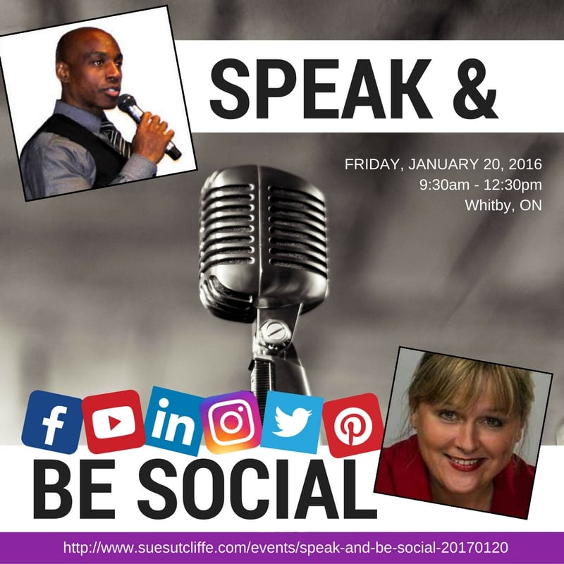 Speak and Be Social