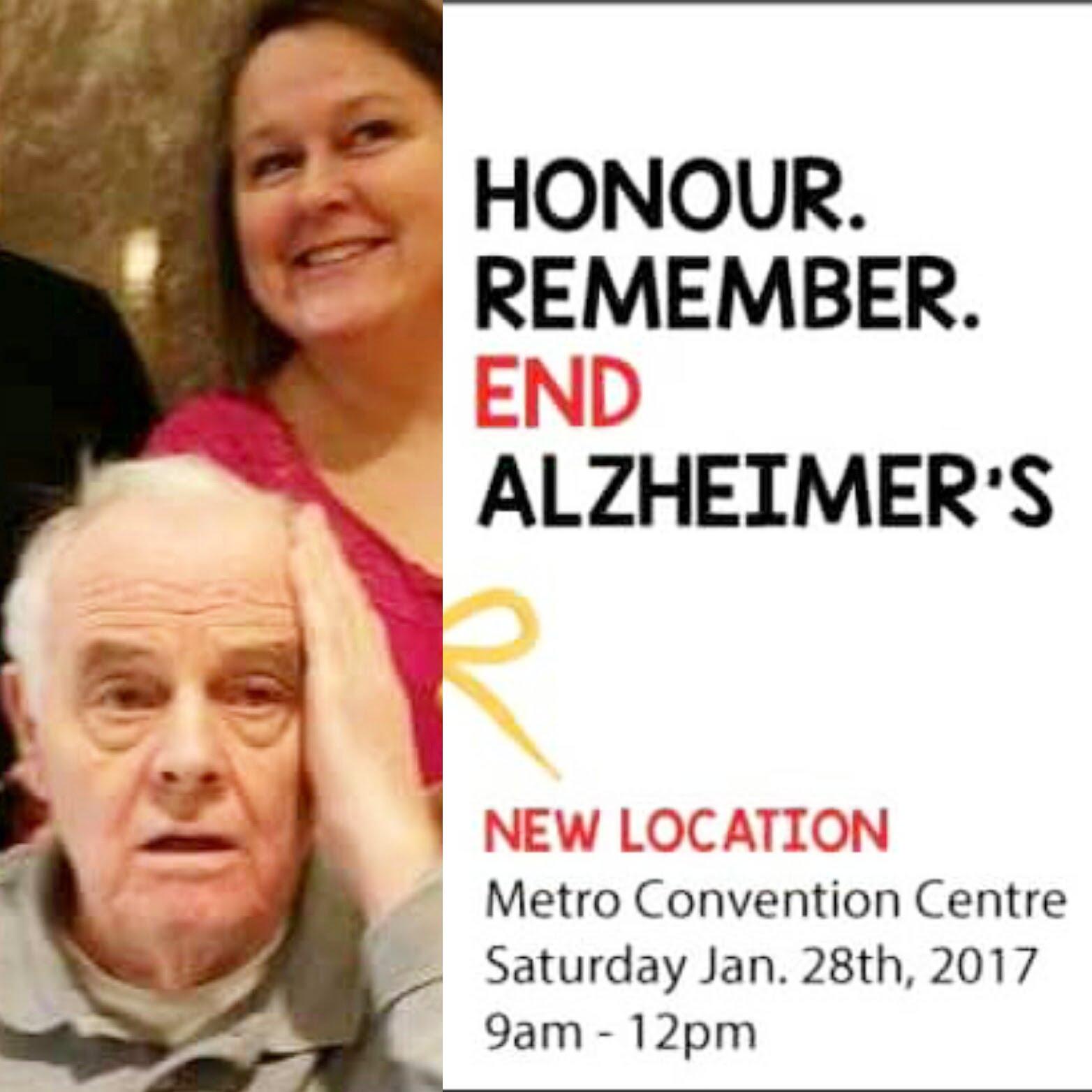Honour. Remember. End Alzheimer's
