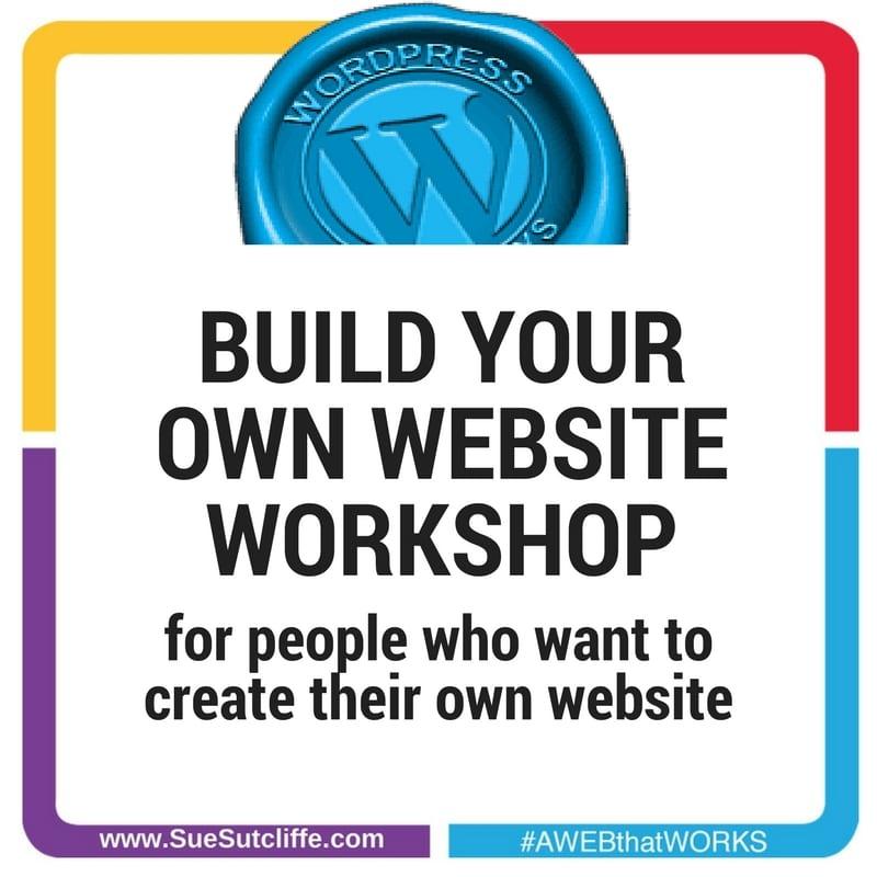 BUILD YOUR OWN WORDPRESS WEBSITE WORKSHOP
