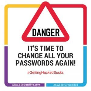 Time to change your password again!
