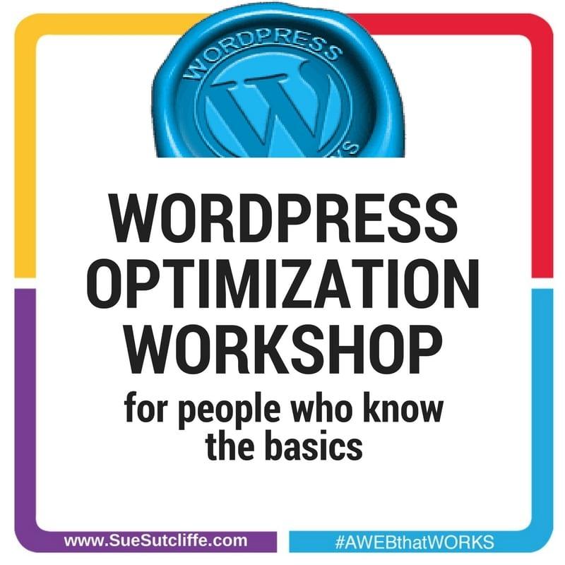 WORDPRESS WEBSITE OPTIMIZATION BASICS