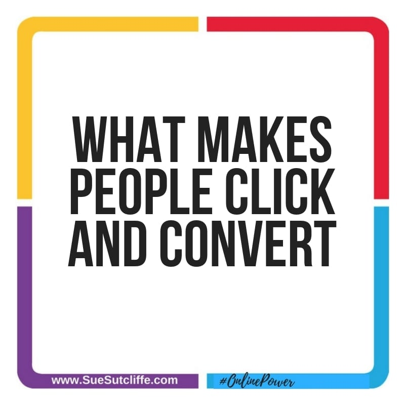 What makes people click and convert?