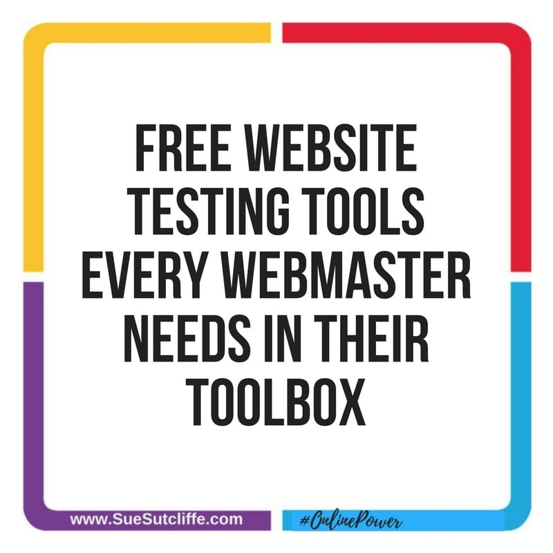 Free Website Testing Tools