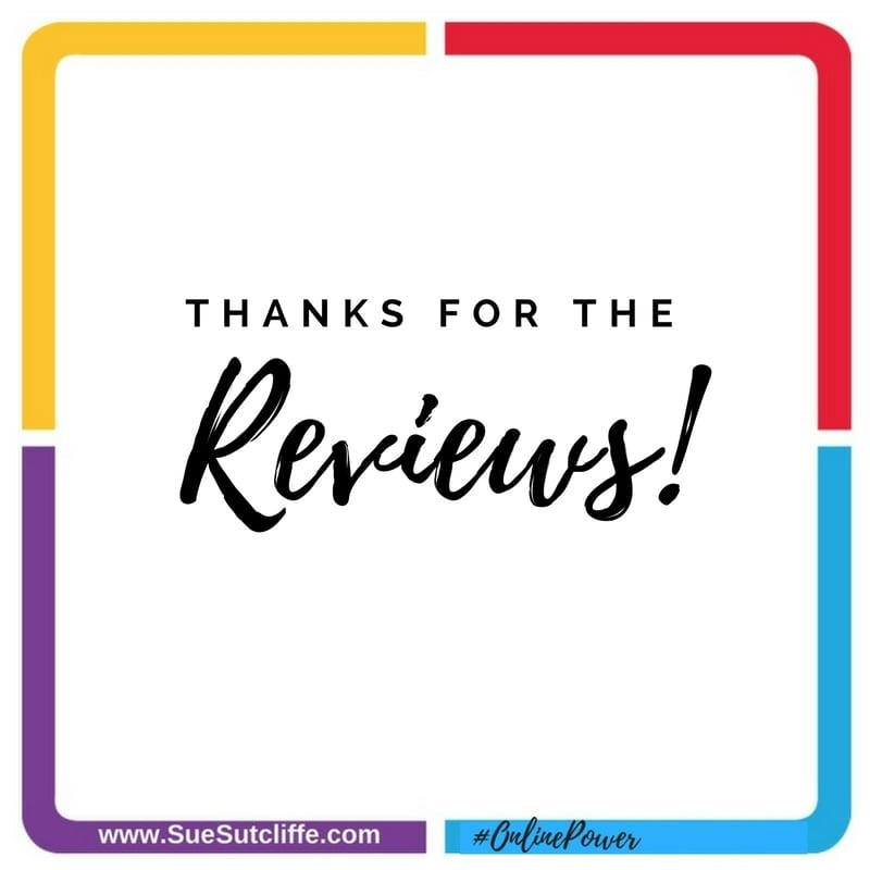Thanks for the reviews!