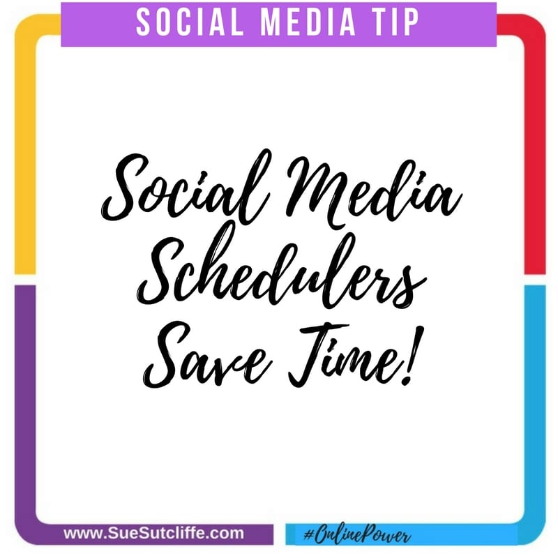 social media schedulers save time