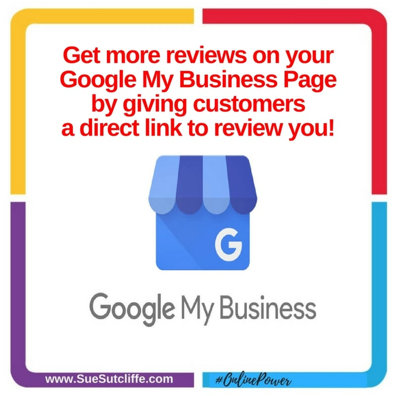 Get more reviews on your Google My Business Page by giving customers a direct link to review you!