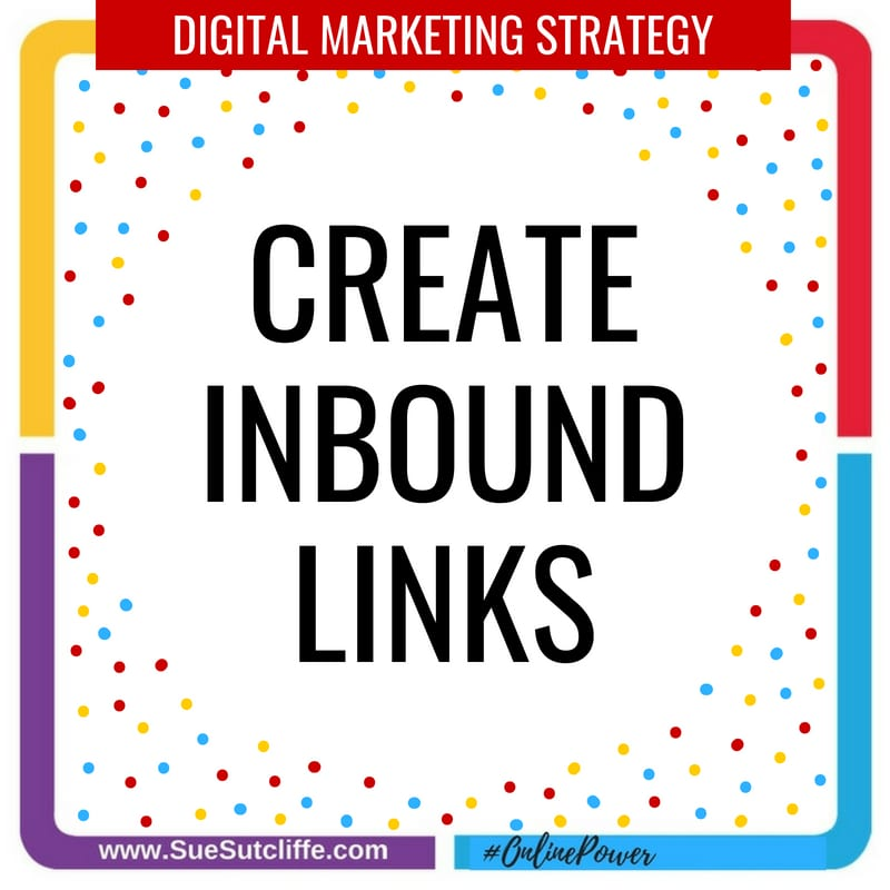Create inbound links