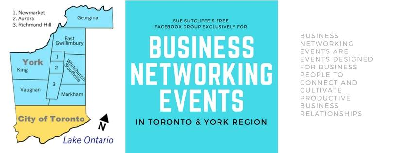 Business Networking Events in Toronto & York Region