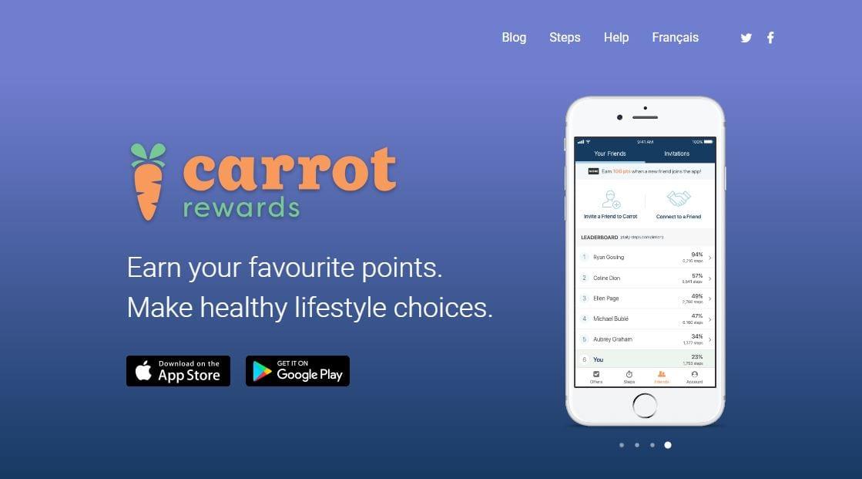 Carrot Rewards App