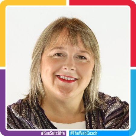 #SueSutcliffe #TheWebCoach