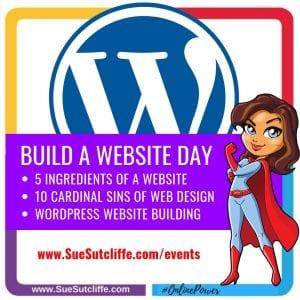 Build A Website Day DIY