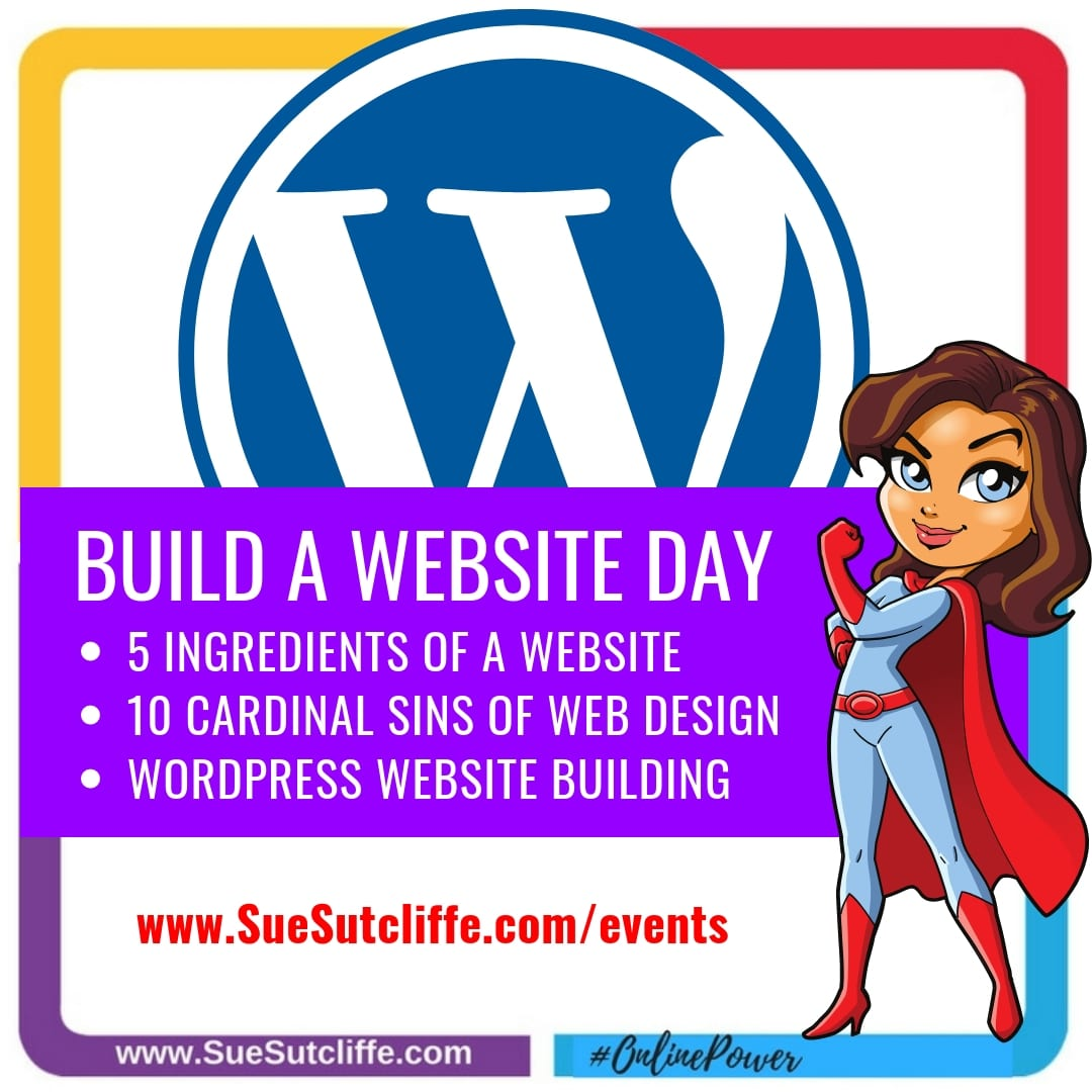 Build A Website Day DIY