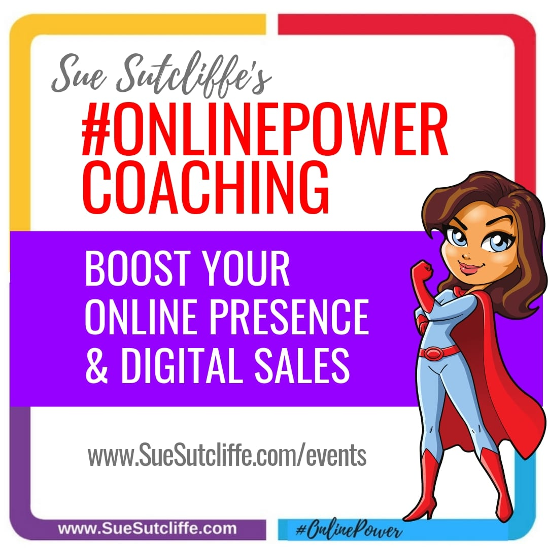#OnlinePower Coaching -- Boost your Online Presence & Digital Sales!