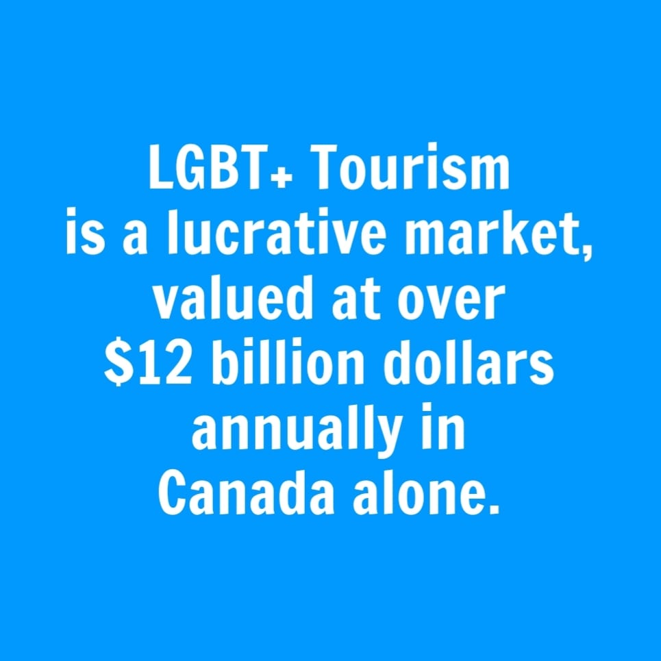 lgbt+ tourism sector