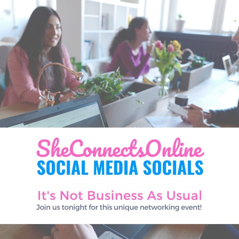 "We're living in unprecedented times as we navigate COVID-19. If you're a woman in business and want to connect with other like-minded women join us tonight at 7 PM EST as we discuss ""It's Not Business As Usual"". Initially Sue Sutcliffe and I created this event to pre-launch our new venture #SheConnectsOnline and invited select women to join us. But after all that has happened in the last week, we felt it was too important a conversation to not open up to others. The event tonight is free, and there are a limited number seats still left. We'll be using a very unique networking platform which allows participants to connect virtually in a very meaningful and deep way. If you'd like to join us, reach out and we'll provide you the information to attend."