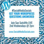 Social Media Socials WordPress Wednesdays Square